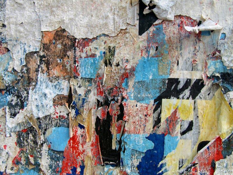 Murs de papier photographie stock