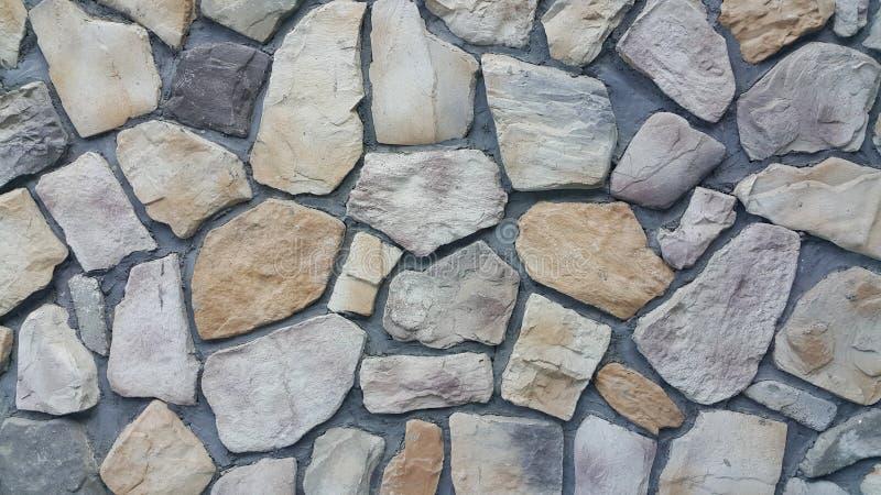 Murs de roche de feuille image libre de droits