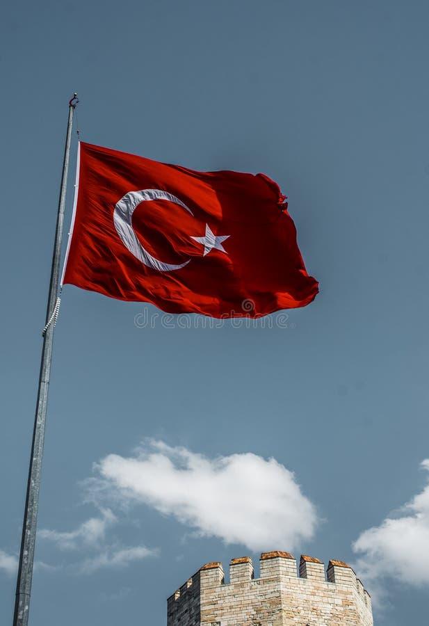 Murs de ville de Constantinople à Istanbul, Turquie photo libre de droits