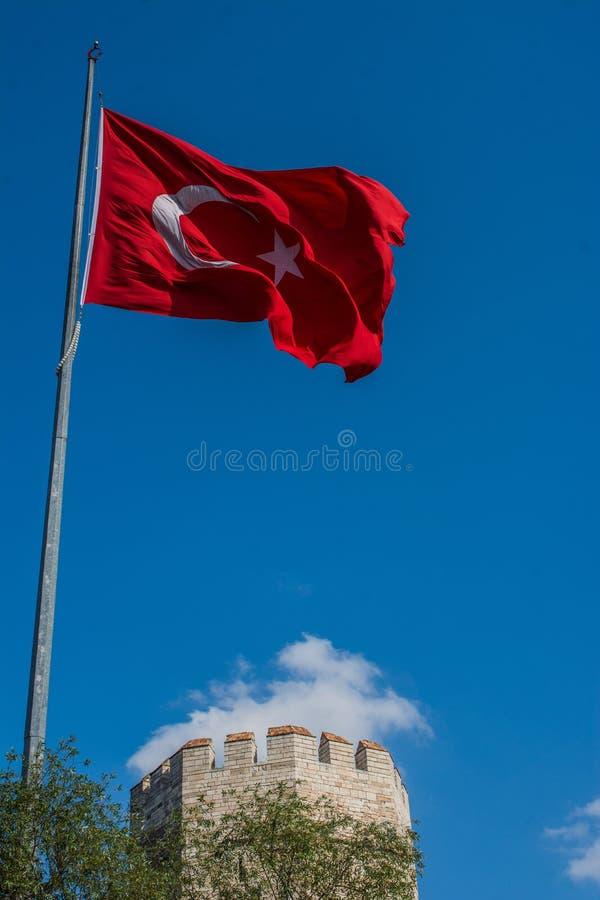 Murs de ville de Constantinople ? Istanbul, Turquie photo stock