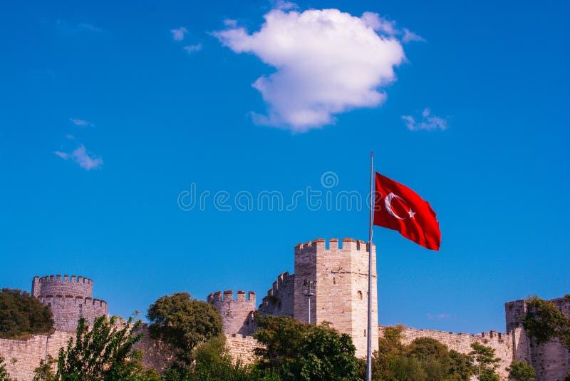 Murs de ville de Constantinople ? Istanbul, Turquie photos libres de droits