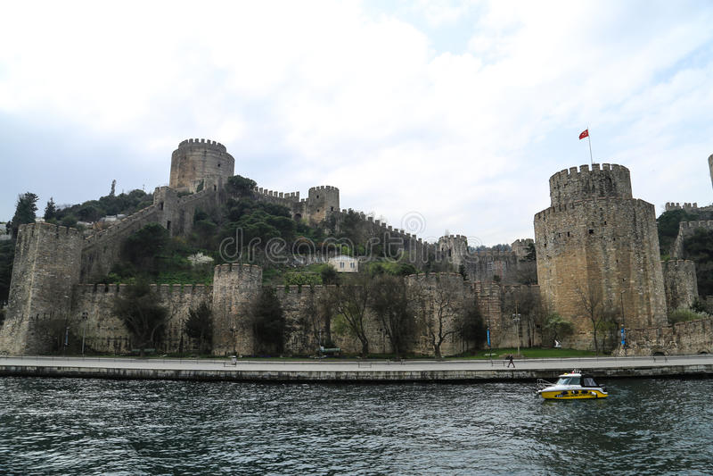 Murs de ville de Constantinople photo stock