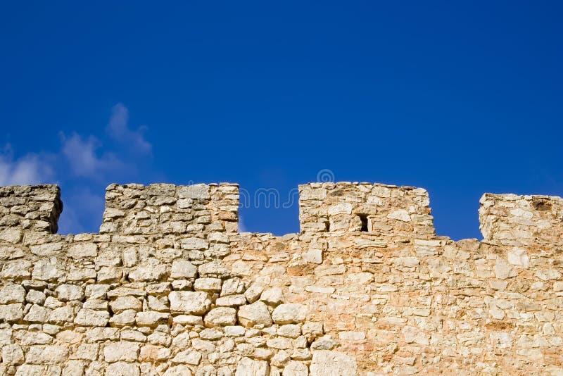 Murs en pierre photographie stock libre de droits