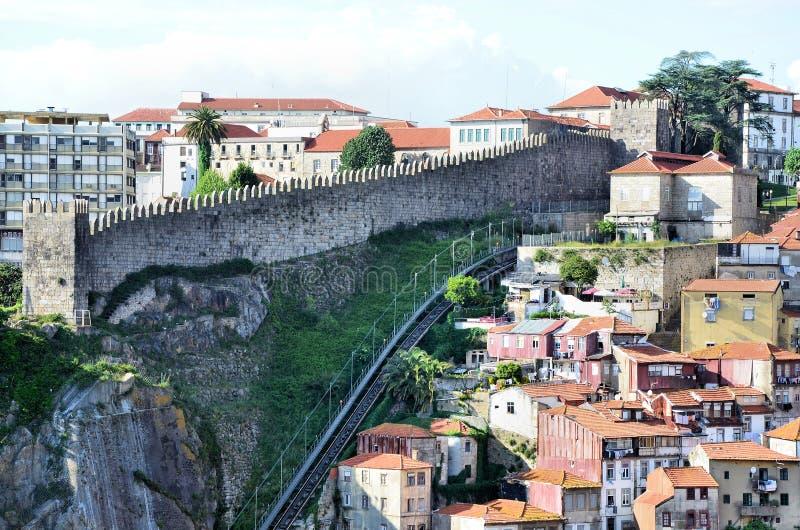 Murs historiques de ville photographie stock libre de droits