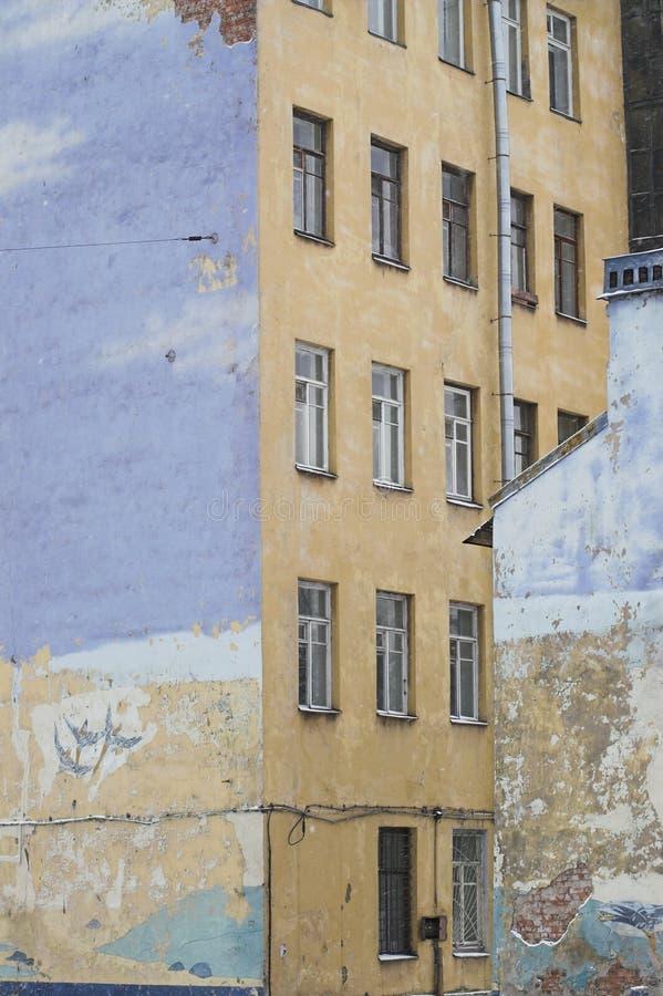 Murs latéraux d'extrémité photos stock