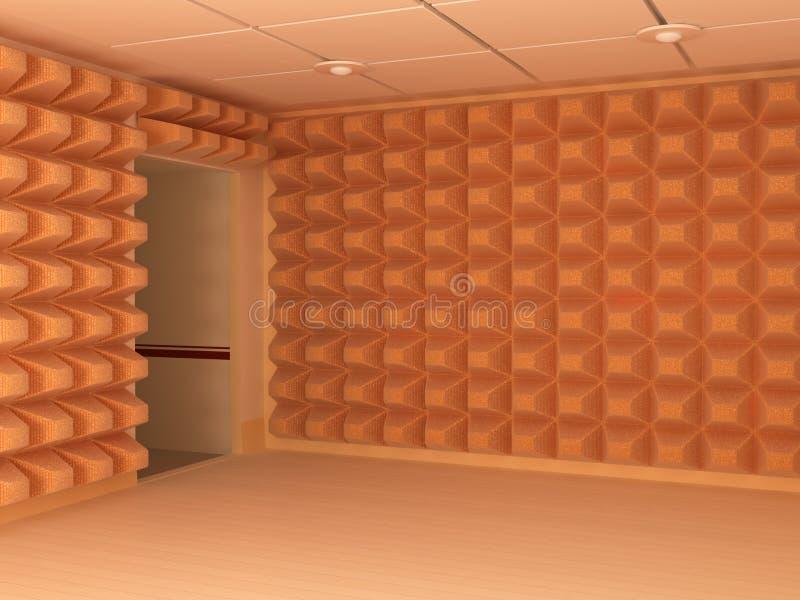 Murs tranquilles illustration libre de droits