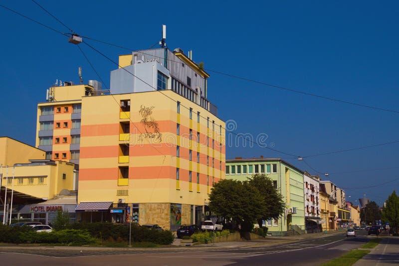 Murska Sobota, Prekmurje, Slovenië royalty-vrije stock foto