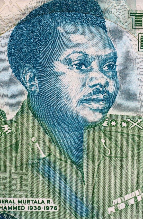 Murtala Mohammed fotografia stock