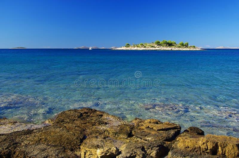 Murter isle before the island 08 royalty free stock photography