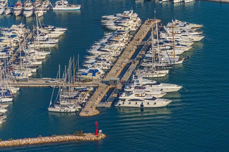 Murter marina antena zdjęcia royalty free