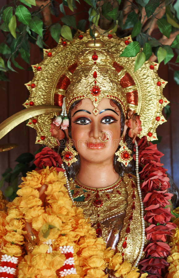 Murti Kali богини стоковое фото rf
