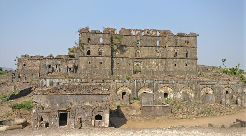 Murud Janjira fort arkivbild