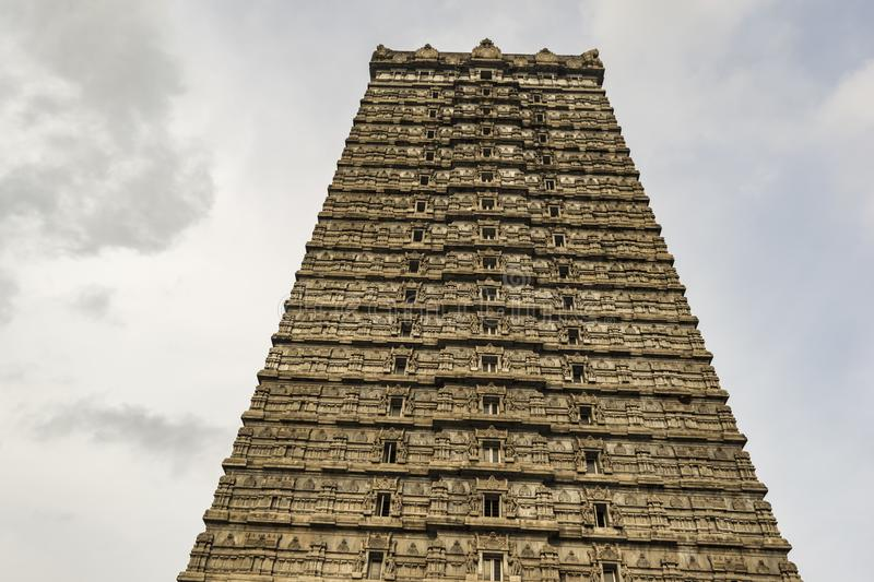 Murudeshwar - Temple Tower with sky background royalty free stock image