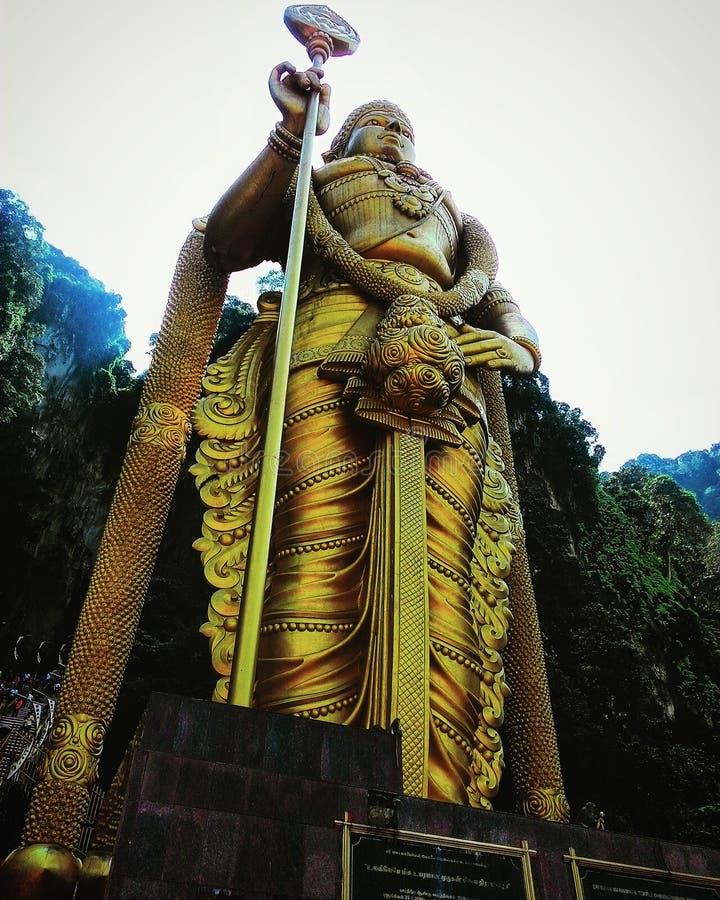 Murugan雕象 库存图片