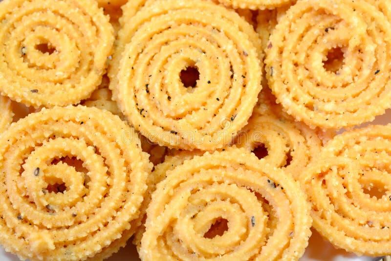 Murukku Indische Snack royalty-vrije stock afbeelding