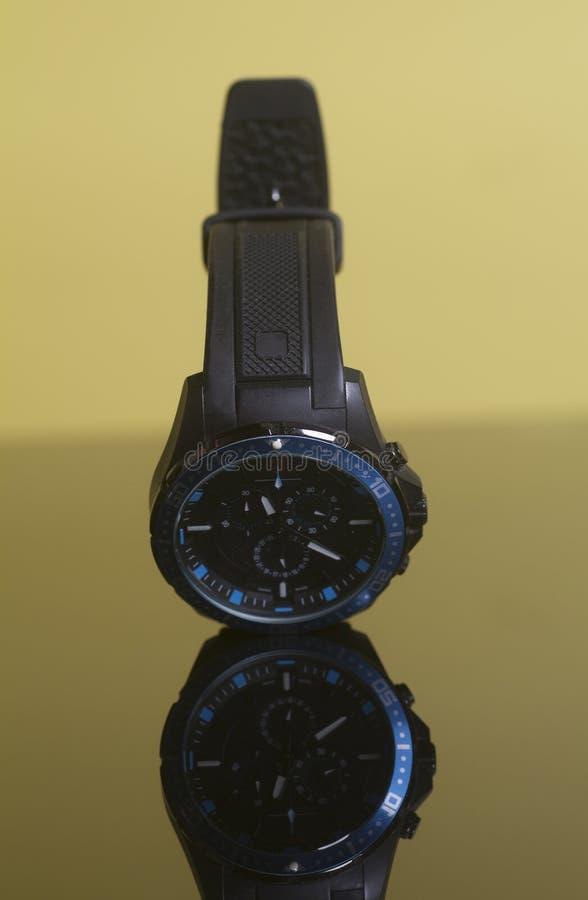 Murzyna zegarek obrazy stock