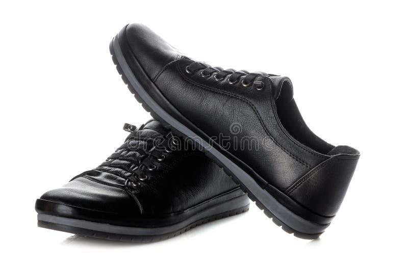 Murzynki ` s sneakers to buty kobiet na białym odosobnionym tle zdjęcie stock