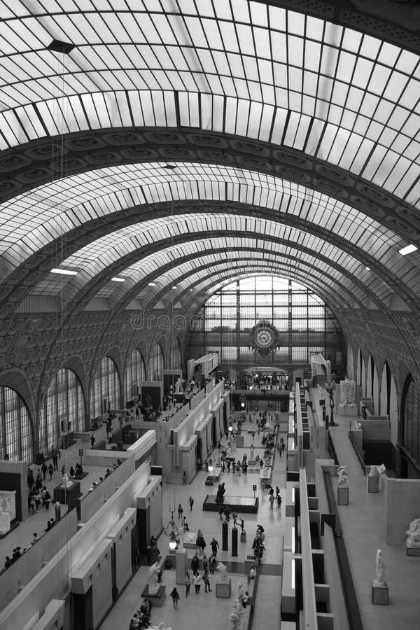 Musée d'Orsay巴黎法国 库存照片