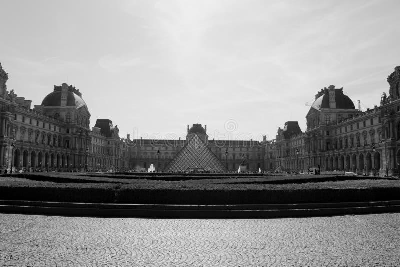 Musée du Louvre fotografía de archivo