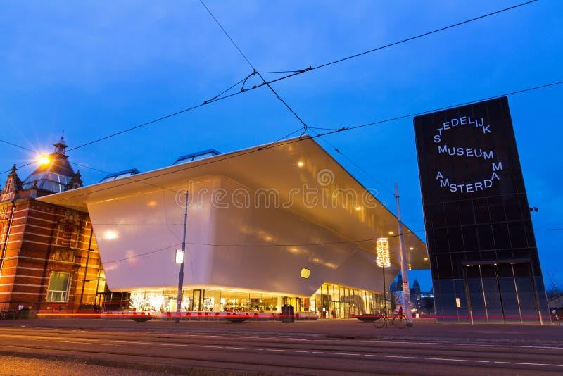 Musée Amsterdam de Stedelijk photo libre de droits