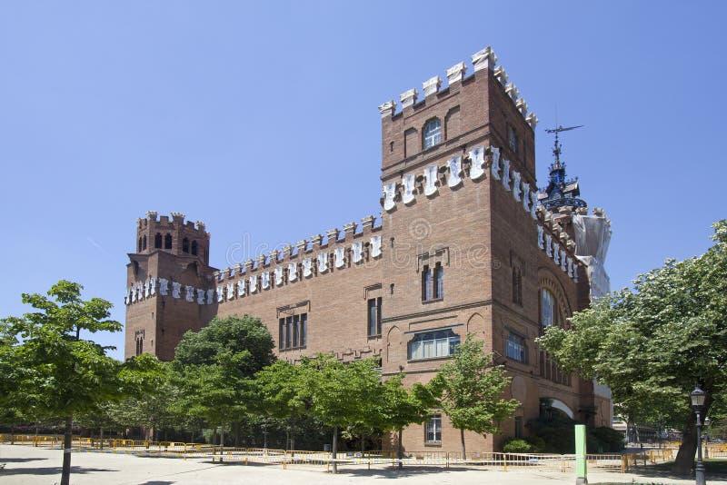 Musée Barcelone de zoologie photos libres de droits