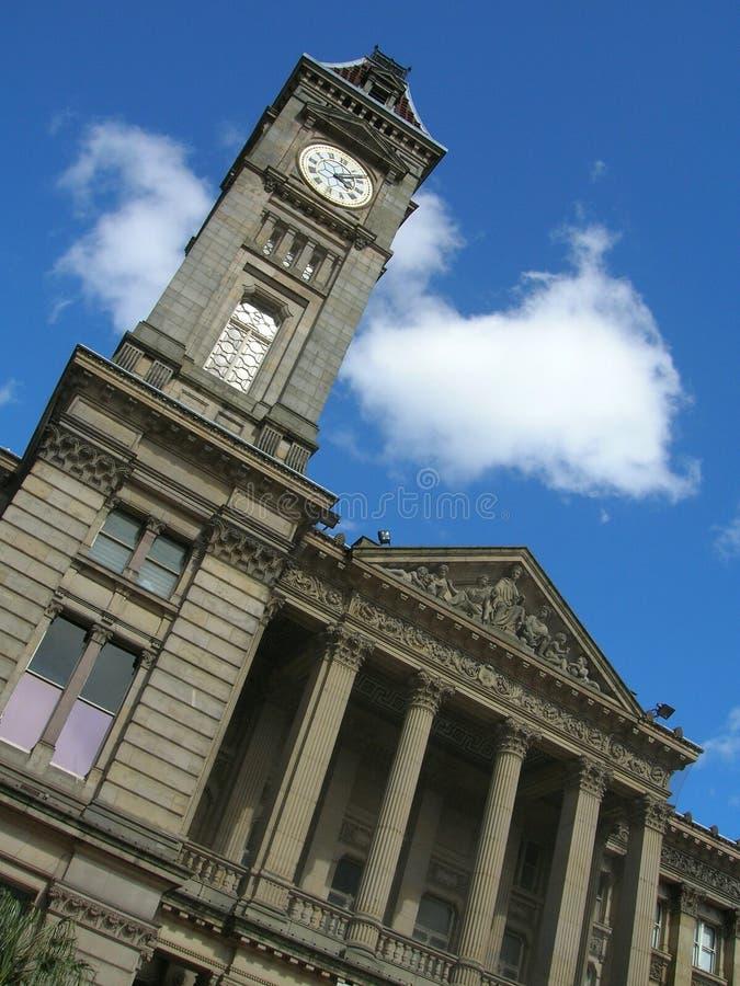 Musée, Birmingham, Angleterre images libres de droits