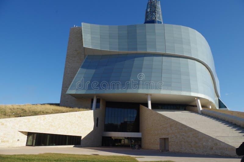 Musée canadien de droits de l'homme photos stock