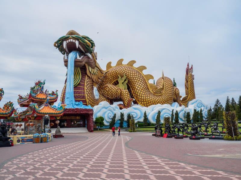 Musée chinois de descendants en Thaïlande photo libre de droits