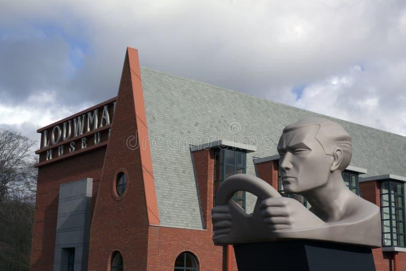 Musée classique Louwman de voiture photo libre de droits