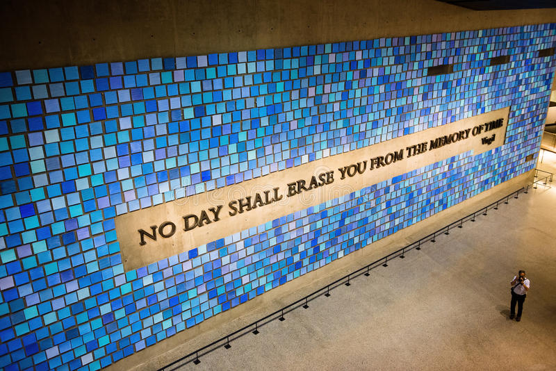 9/11 musée commémoratif New York images libres de droits