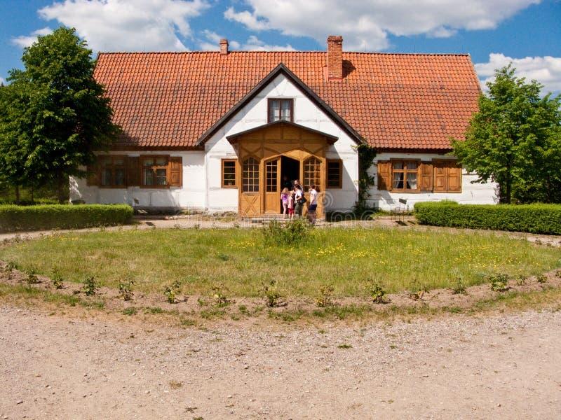 Musée d'air d'opération de Wdzydze Kiszewskie, Pologne image libre de droits