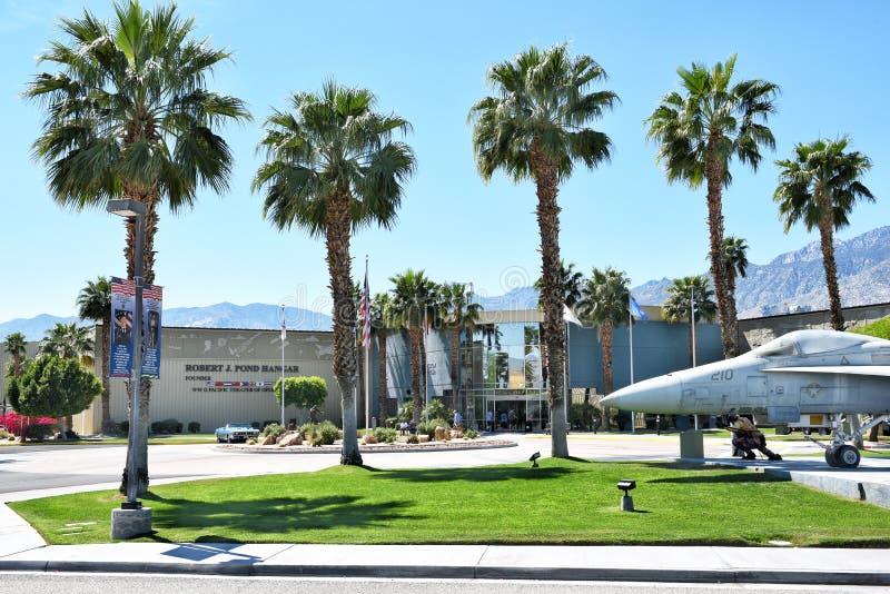 Musée d'air de Palm Springs photographie stock libre de droits