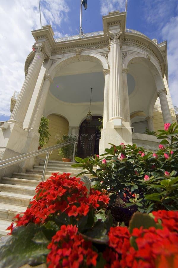 Musée d'Art de Cycladic photo libre de droits