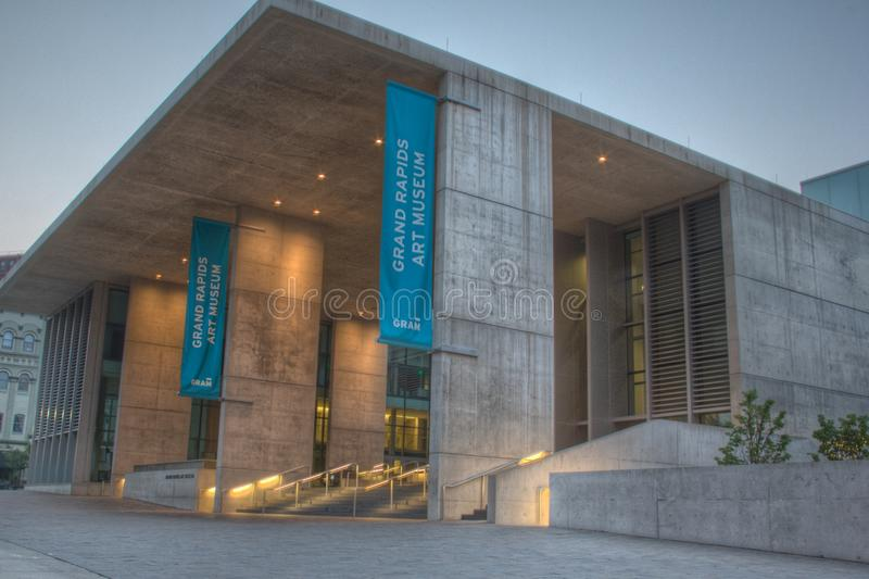 Musée d'Art de Grand Rapids photos stock