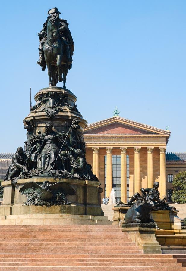 Musée d'Art de Philadelphie image libre de droits