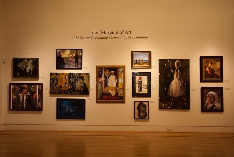 Musée d'Art de Triton photos libres de droits