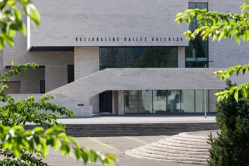Musée d'Art lithuanien. Galerie d'art nationale. photo libre de droits