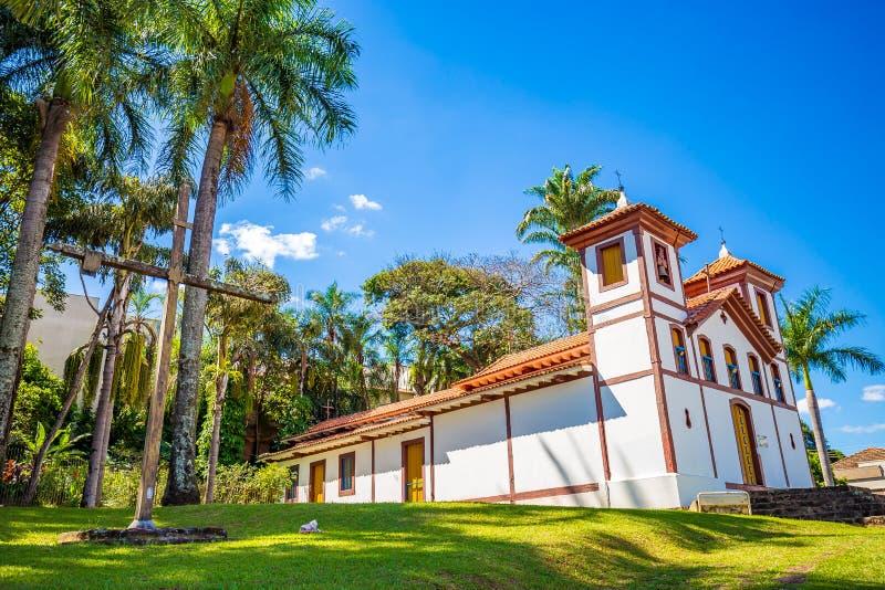 Musée d'Art saint Uberaba, Minas Gerais - Brésil photos libres de droits