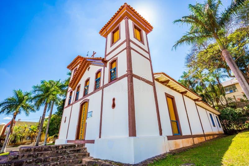 Musée d'Art saint Uberaba, Minas Gerais - Brésil photographie stock libre de droits