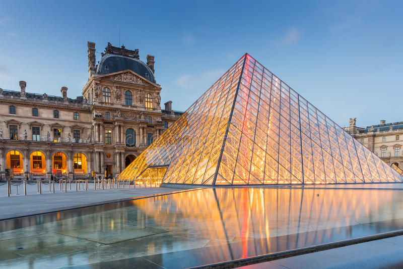 Musée d'auvent à Paris, France photographie stock libre de droits