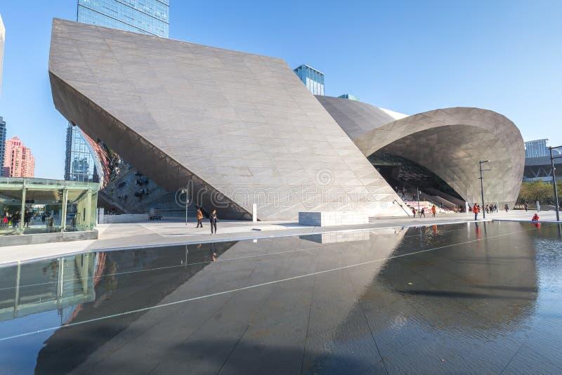Musée d'exposition d'art contemporain et de planification photo libre de droits