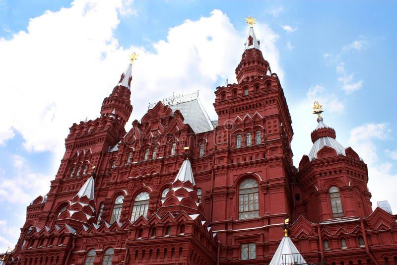 Musée d'histoire à Moscou photos libres de droits