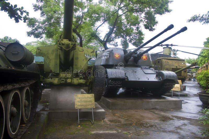 Musée d'histoire militaire à Hanoï photo libre de droits