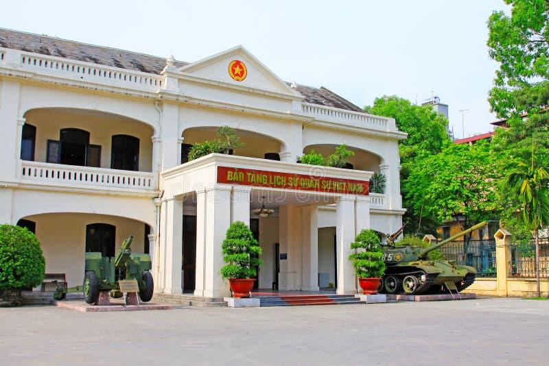 Musée d'histoire militaire du Vietnam, Hanoï Vietnam images libres de droits