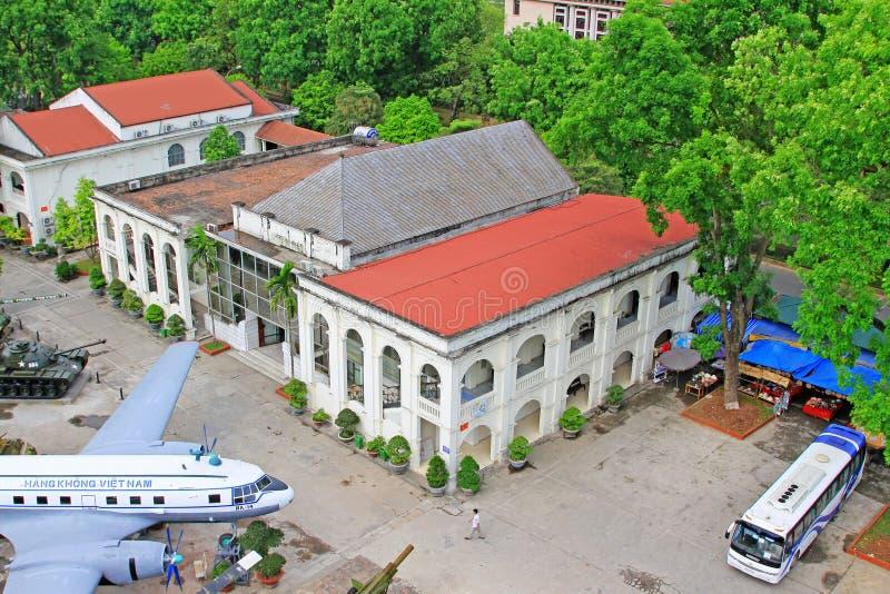 Musée d'histoire militaire du Vietnam, Hanoï Vietnam photo libre de droits
