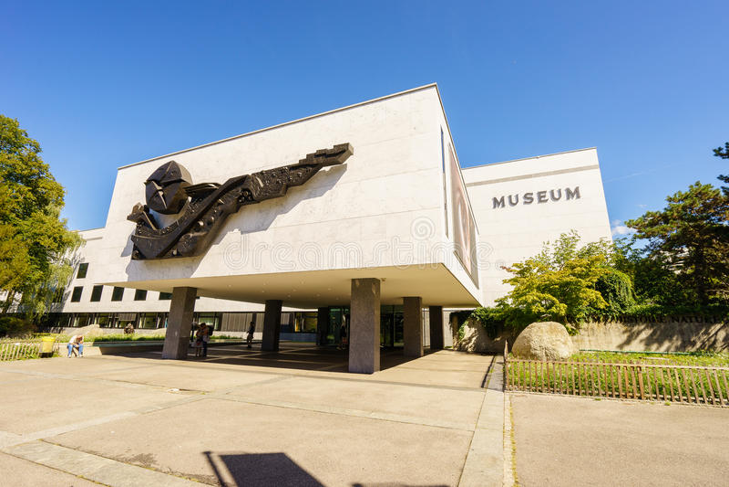 Musée d'histoire naturelle de Genève photo libre de droits