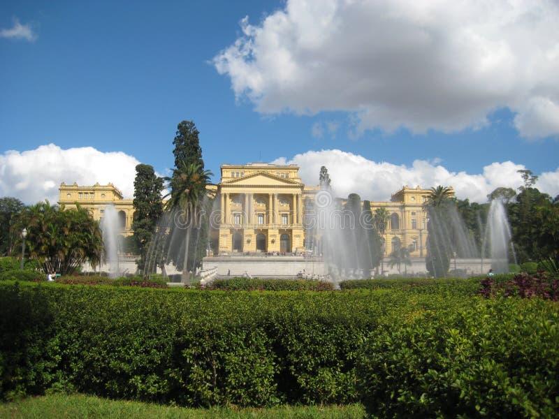 Musée d'Ipiranga images libres de droits