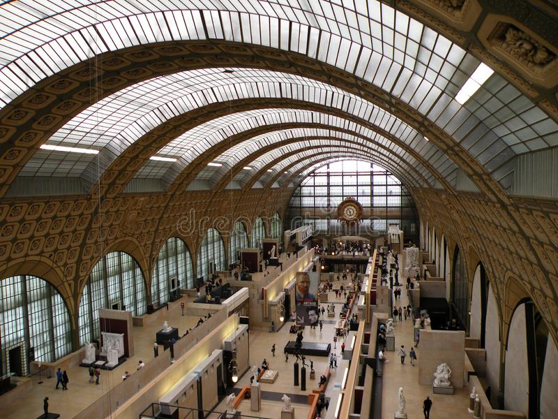 Musée d'Orsay, Paris France photos libres de droits