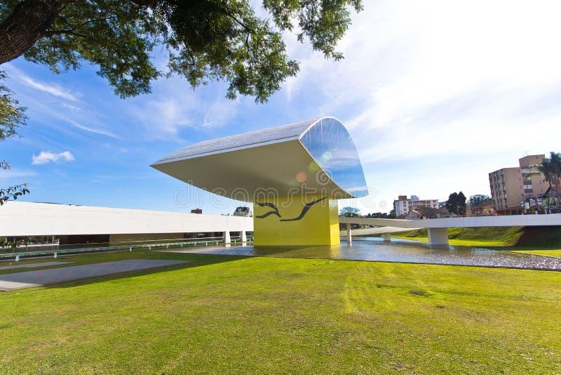 Musée d'Oscar Niemeyer photos libres de droits
