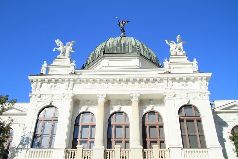 Musée dans Opava image libre de droits